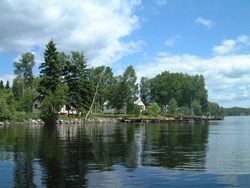 Our resort on McKenzie Island, Red Lake